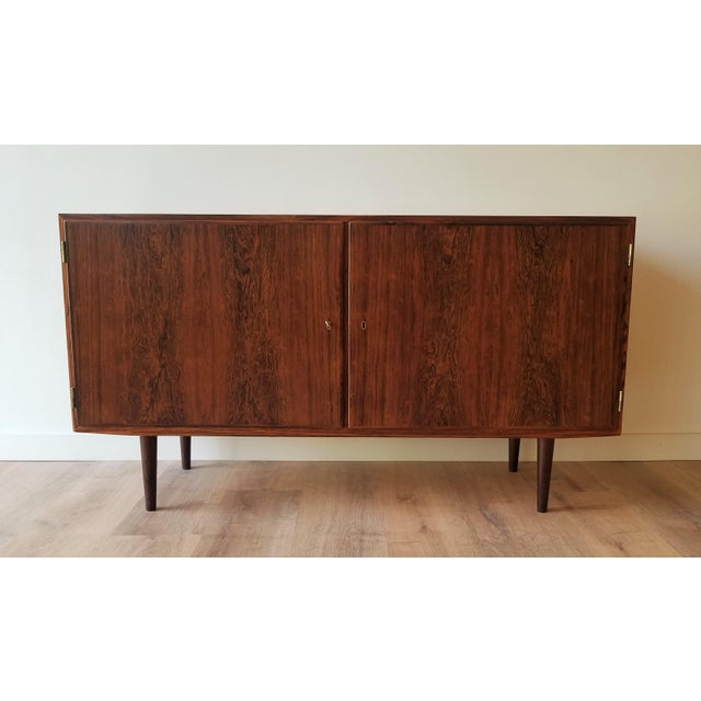 Mid-Century Modern Fully Restored Poul Hundevad Rosewood Sideboard For Sale - Image 13 of 13
