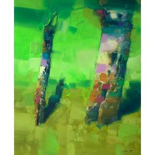 """Summer"" Original Oil Painting Handmade Artwork For Sale"