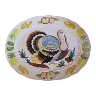 Vintage Turkey Platter For Sale