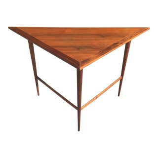Vintage Triangular Wall /Console Table For Sale