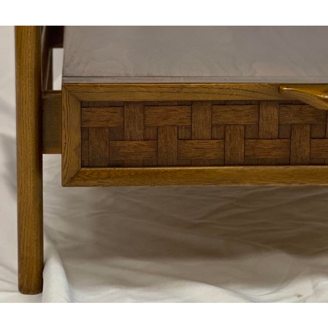 Wood Vintage Mid Century Modern Lane Perception Side Table / Nightstand For Sale - Image 7 of 11