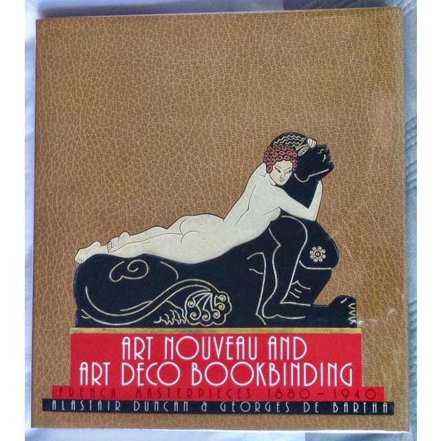 """1960s Vintage """"Art Nouveau and Art Deco Book Binding"""" Book For Sale - Image 9 of 9"""