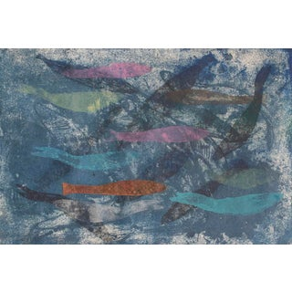 Jacklyn Friedman Art Print - Mysterious Fish