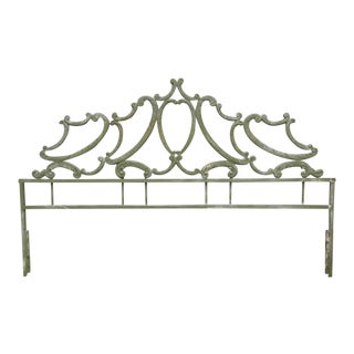 Vintage Hollywood Regency King Bedframe
