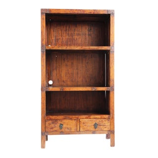 Vintage Elm Shelf For Sale