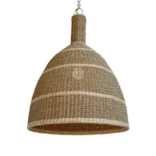 Kuba Seagrass Lantern Medium For Sale