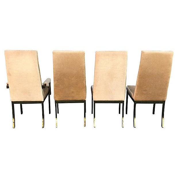 Chromcraft Milo Baughman Style Highback Chromcraft Dining Chairs - Set of 4 For Sale - Image 4 of 10