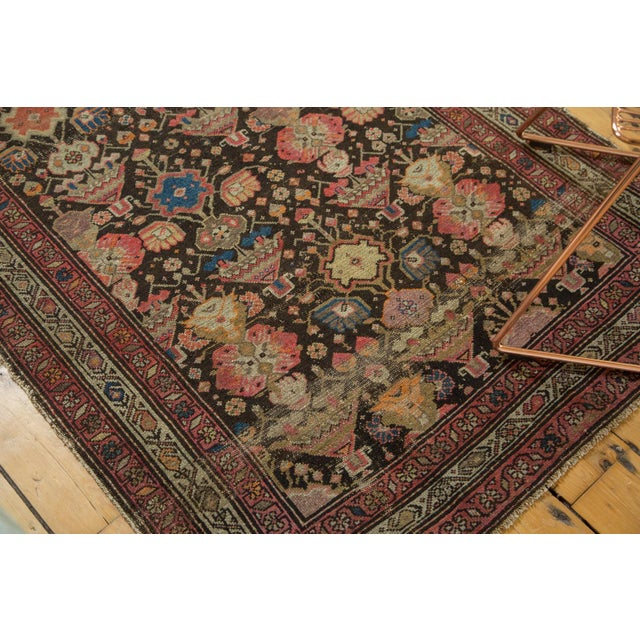 "Antique Malayer Rug - 3'7"" x 6'6"" For Sale - Image 4 of 10"
