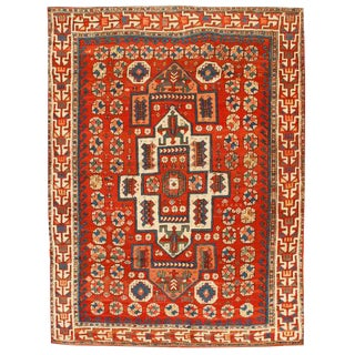 Antique 19th Century Turkish Bergama Rug For Sale