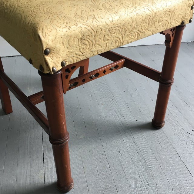 Antique Pagoda Side Chair - Image 7 of 9