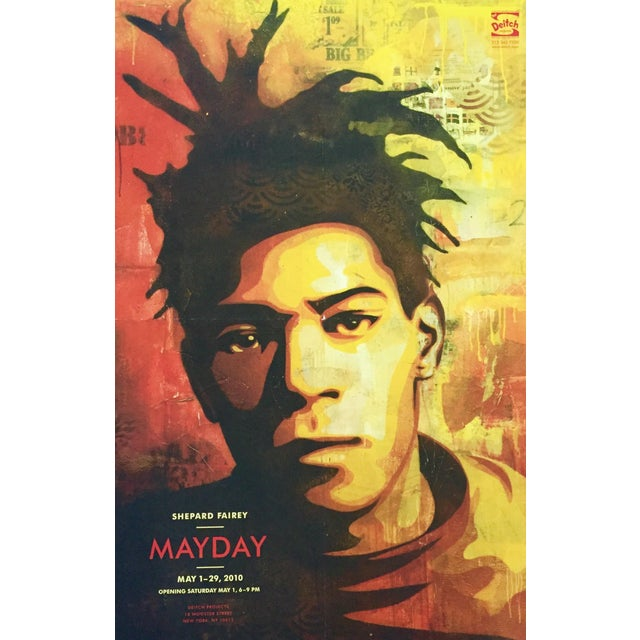 Shepard Fairey Basquiat Exhibition Poster - Image 2 of 3