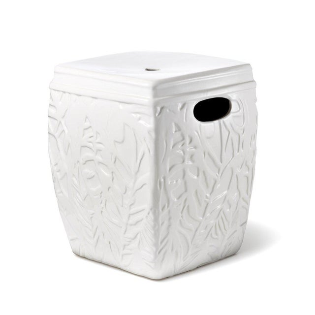 Lilly Pulitzer for Target Ceramic Garden Stool! Has been kept indoors since I purchased it, just an indoor plant placed on...