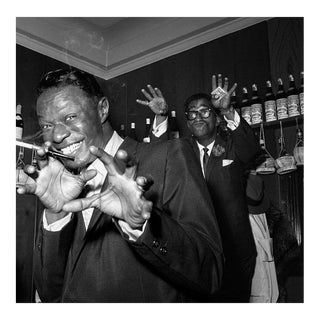 Nat 'King' Cole and Sammy Davis Jr. at the Villa Capri 1955 For Sale