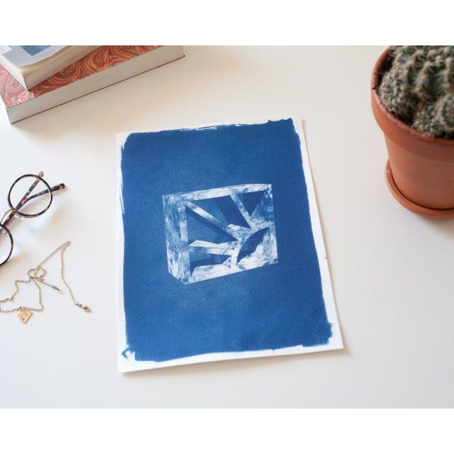 Cyanotype Print 3D Screen Block - Image 3 of 4