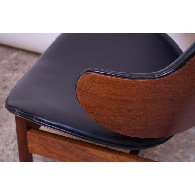 Metal Seymour J. Wiener Walnut Lounge Chair for Kodawood For Sale - Image 7 of 13