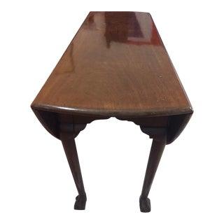 18th Century George III Mahogany Dropleaf Table