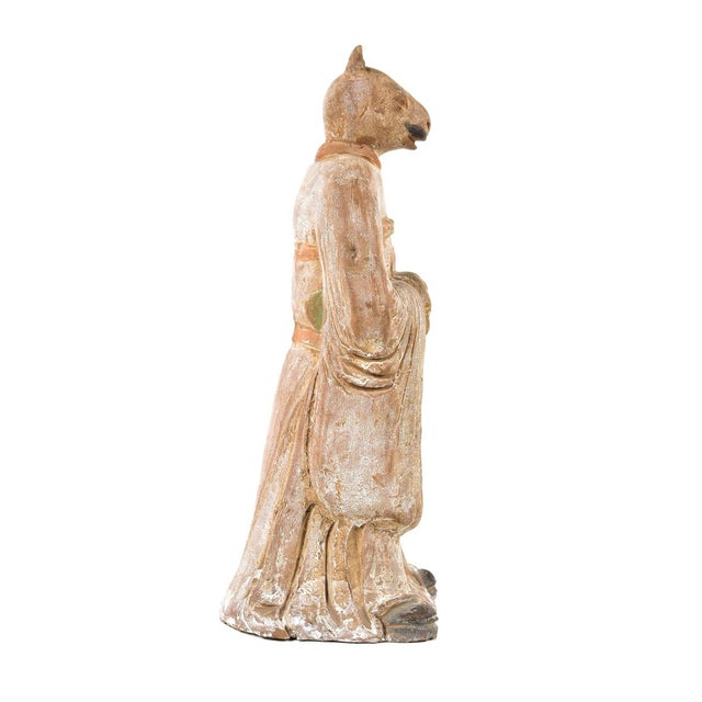 Antique Chinese Zodiac Rat Figurine - Image 6 of 9