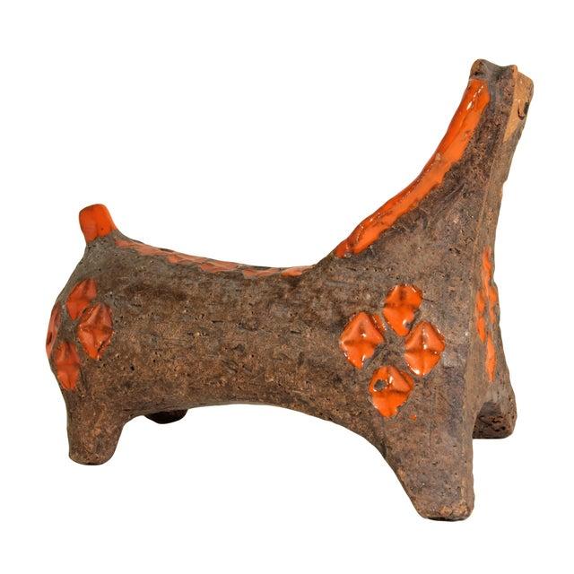 Aldo Londi for Bitossi Vintage 1960 Ceramic Horse - Image 3 of 5