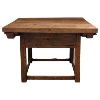 Dutch 19th Century Mixed Woods Paying Desk For Sale