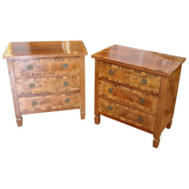 Pair of Italian Chair Side Chests For Sale - Image 13 of 13