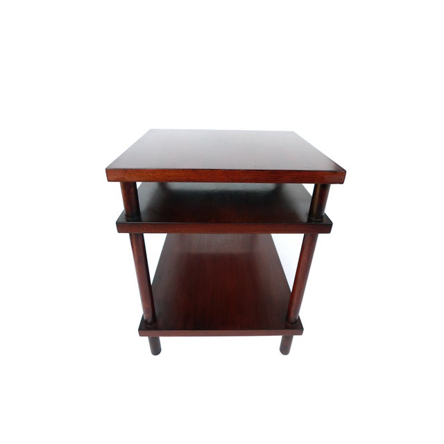 Robsjohn-Gibbings Tiered Side Table for Widdicomb For Sale In New York - Image 6 of 10