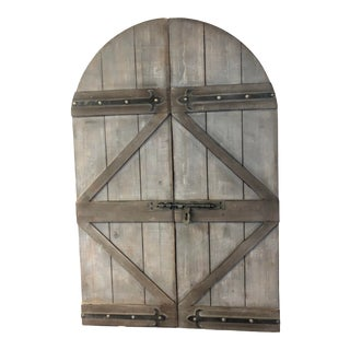 Faux Barn Door For Sale