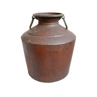 Antique Copper Water Pot For Sale