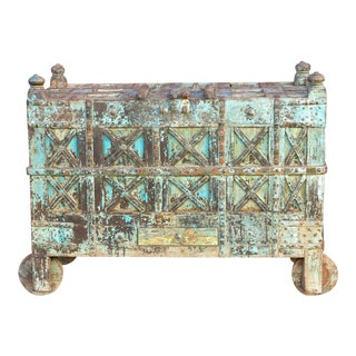 Grand Gujarat Blue Trunk For Sale