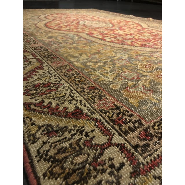 Bellwether Rugs Distressed Look Vintage Turkish Oushak Area - 4'x6' - Image 6 of 11