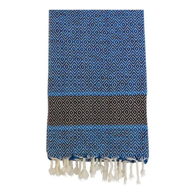 Blue Turkish Towel - Image 1 of 2