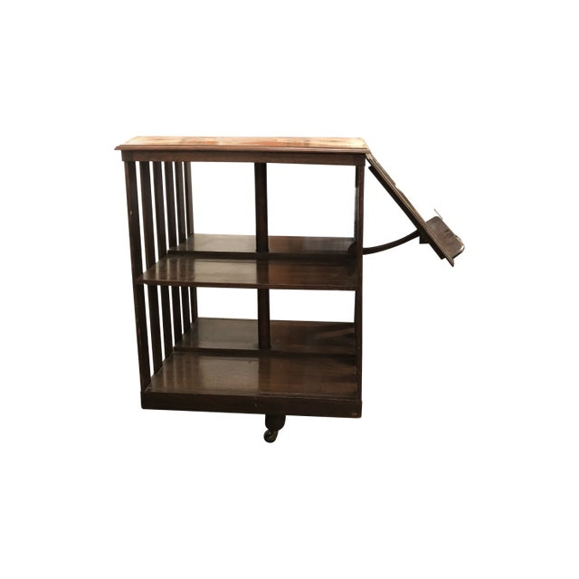Traditional 20th Century Traditional Swivel Bookcase For Sale - Image 3 of 8