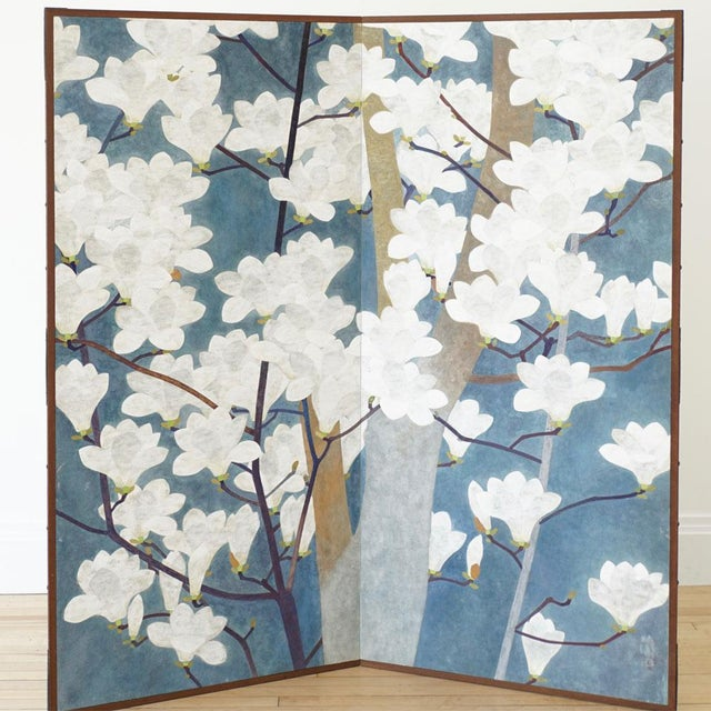 Japanese Floral Screen - Image 4 of 4