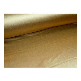 Ralph Lauren Antique Satin Color Gold Fabric For Sale