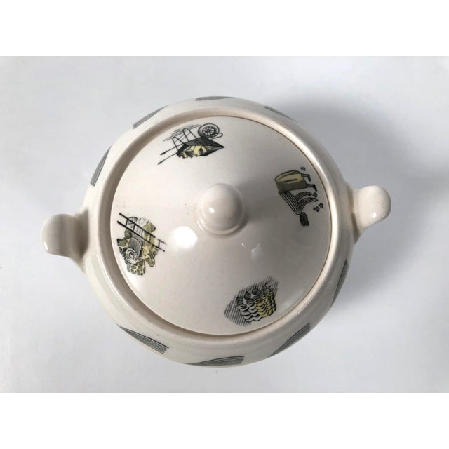 Eric Ravilious Garden Series Coffee Service for Wedgwood - 4 Pc. Set For Sale - Image 11 of 13