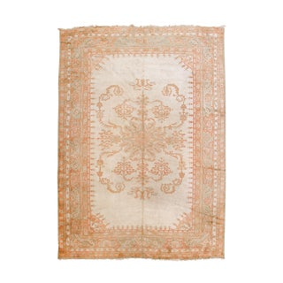 Turkish Oushak Rug - 8′1″ × 12′ For Sale