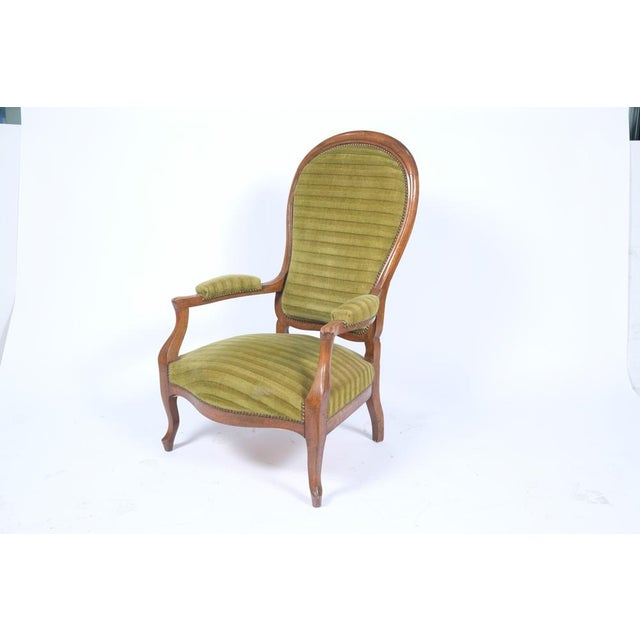 1890's French Rococo-Style Armchair For Sale - Image 4 of 13
