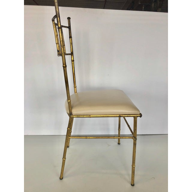 Mid-Century Modern 1950s Mid Century Italian Side Chair For Sale - Image 3 of 5