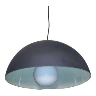Half Globe Sphere Lucite Pendant Light