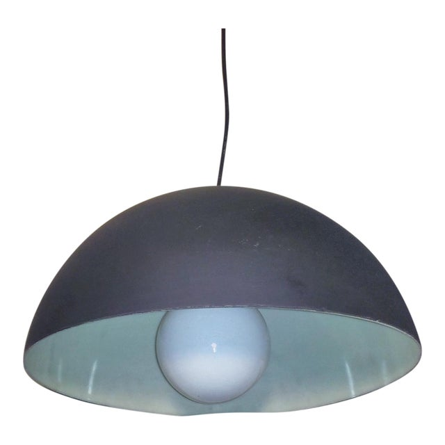 Half Globe Sphere Lucite Pendant Light For Sale
