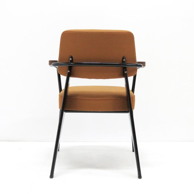 Vitra Fauteuil Direction by Jean Prouvé Armchair For Sale In Los Angeles - Image 6 of 11