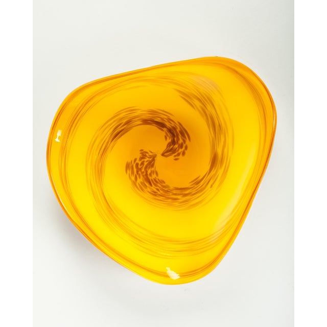 Mid 20th Century Mid 20th Century Murano Glass Decorative Dish For Sale - Image 5 of 5