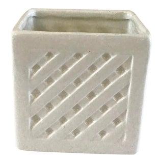 1960s French Lattice Box Cache Pot For Sale