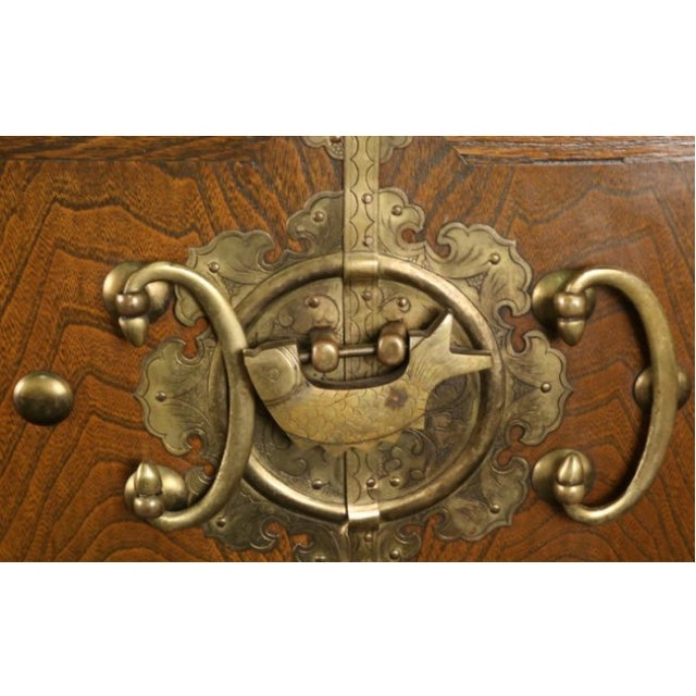Petite Brass-Bound Chest - Image 3 of 4