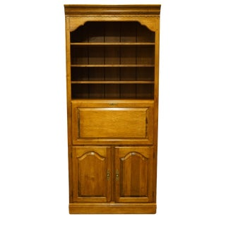20th Century Early American Ethan Allen Secretary Wall Unit For Sale