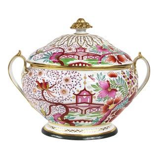 19th Century Porcelain Tureen For Sale