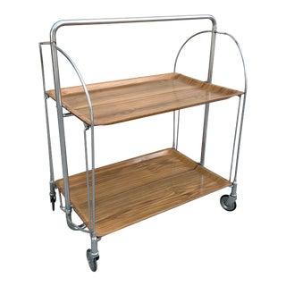 German Mid-Century Bar Cart For Sale