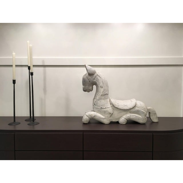 20th Century Folk Art Horse Sculpture For Sale - Image 10 of 11