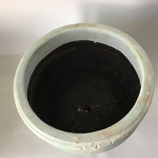 Pale Blue Pottery Planter - Image 5 of 8