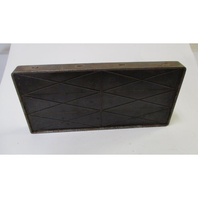 Antique Industrial Chocolate Candy Mold - Image 10 of 10