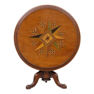 Miniature Tilt-Top Table For Sale